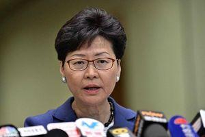 Chính quyền Hồng Công dừng dự luật gây tranh cãi