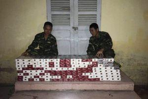 Thu giữ gần 1.500 gói thuốc lá ngoại nhập lậu