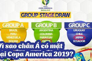 Vì sao châu Á có 2 đại diện tại Copa America 2019?