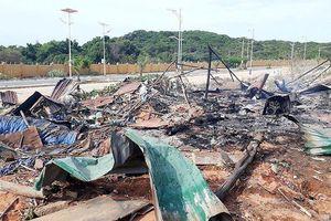 Nổ phuy xăng dầu tại dự án sân golf Cam Ranh, 2 người tử vong