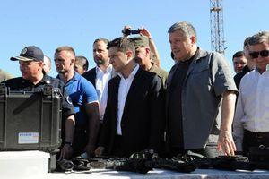 Tân tổng thống Ukraine thăm cảng chiến lược ở biển Azov