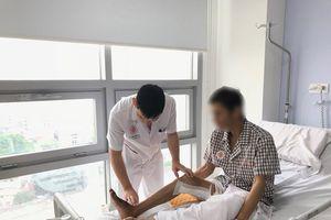 Bàn chân người đàn ông Quảng Nam chết khô vì nghiện thuốc lá