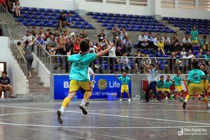 Lịch thi đấu Chung kết Giải bóng đá TN-NĐ Cúp Báo Nghệ An