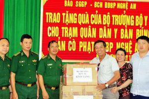 Khám và cấp thuốc miễn phí cho người dân vùng cao