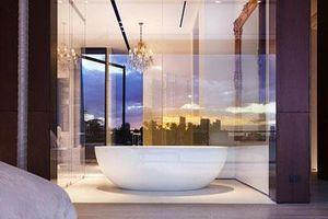 Nâng tầm vẻ đẹp của phòng tắm gia đình với thiết kế đèn chùm rực rỡ