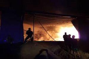 Quảng Nam: Xưởng gỗ rộng hơn 1.000m² bị bà hỏa thiêu rụi