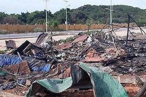 Cháy nổ tại dự án KN Paradise và sân gofl Long Thành, ít nhất 10 người thương vong