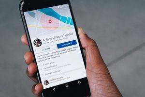 Facebook ra mắt tính năng hỗ trợ hiến - nhận máu nhân đạo tại Mỹ
