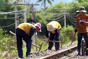 Trộm phụ kiện đường sắt, uy hiếp an toàn chạy tàu tại Khánh Hòa