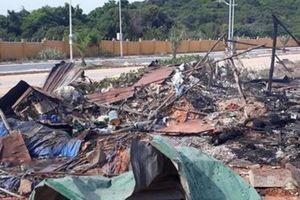 Khánh Hòa: Cháy nổ khu vực dự án sân golf,ít nhất 10 người thương vong