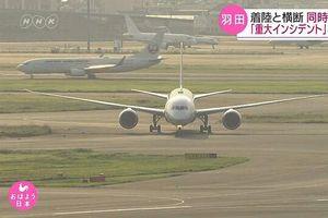 Hai máy bay suýt va chạm vào nhau trên đường băng