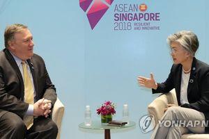 Ngoại trưởng Hàn Quốc, Mỹ điện đàm về tình hình Triều Tiên