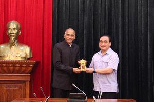 Hà Nội tăng cường hợp tác toàn diện với Ấn Độ