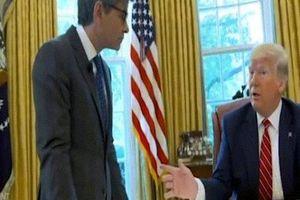 Trump 'đuổi thẳng' Chánh VP Nhà Trắng khỏi phòng Bầu Dục vì lỗi nhỏ