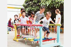 Nỗ lực tạo sân chơi cho trẻ em