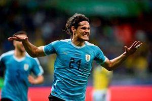 Đội tuyển Uruguay thắng đậm đội tuyển Ecuador