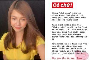 Bạn gái Lâm Tây 'xuất chiêu' làm 'quân sư tình yêu' để lấy lòng fan