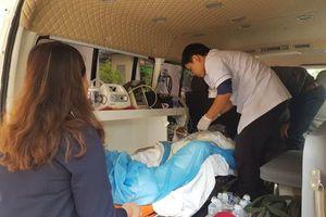 3 nạn nhân bỏng nặng trong vụ nổ kinh hoàng ở Cam Ranh đã được chuyển đi TP.HCM
