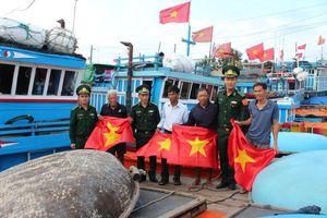 Bộ Tư lệnh BĐBP phát động tặng cờ Tổ quốc cho ngư dân