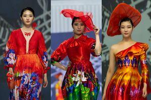 Áo dài gây ấn tượng tại ASEAN Week 2019