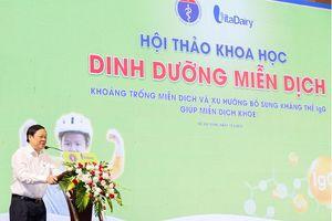 VitaDairy đồng hành cùng Bộ Y tế trong năm hành động tăng cường miễn dịch cho trẻ