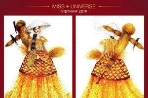 Những mẫu trang phục dân tộc đẹp mắt nhất cho Hoàng Thùy ở Miss Universe
