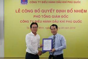 PVN công bố quyết định bổ nhiệm Phó Tổng giám đốc Phu Quoc POC