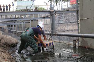 Bùn sông Tô Lịch bắt đầu được xử lý thành khí CO2 và nước bằng 'bảo bối' của Nhật