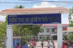 Đề nghị truy tố thầy giáo dâm ô nhiều nữ sinh ở Cà Mau