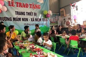 Công ty TNHH An Chi Vận: Thắp sáng ước mơ cho các em vùng cao