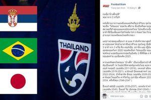 Truyền thông Thái Lan 'phản pháo' báo Hàn: ĐT Thái Lan không hề quan tâm đến HLV Park Hang Seo