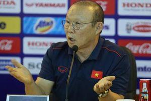 HLV Park Hang Seo thông tin về danh sách U22 Việt Nam dự SEA Games 30