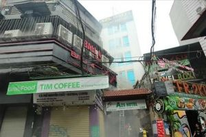 Hà Nội: Cháy khách sạn trong phố cổ, du khách hoảng loạn thoát thân