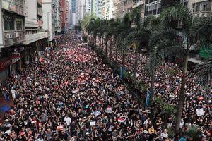 VIDEO 'biển người' biểu tình ở Hồng Kông