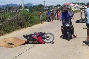 Xe máy 'đấu đầu' nhau, nam thanh niên tử vong tại chỗ