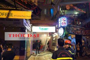 Cháy khách sạn A25 khiến khu phố cổ Hà Nội náo loạn