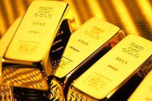 Giá vàng giảm mạnh trong phiên giao dịch đầu tuần