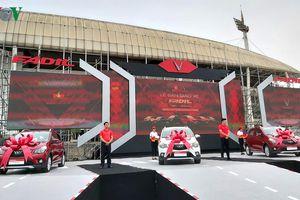 Mẫu ô tô VinFast đầu tiên đến tay người tiêu dùng Việt