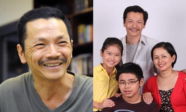 Giấu kín nhiều năm, NSƯT Trung Anh lần hiếm hoi khoe ảnh gia đình