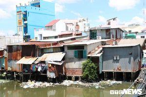 Khu ổ chuột ô nhiễm nhất TP.HCM, quy hoạch 'treo' gần 20 năm