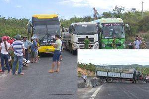 Xe tải đổ đèo gây tai nạn liên hoàn ở Phú Yên, người phụ nữ chết thảm