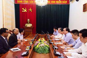 Hà Nội tiếp tục đẩy mạnh giao lưu, hợp tác với Ấn Độ