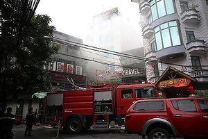 Giám đốc CATP Hà Nội gửi thư khen các đơn vị kịp thời cứu nhiều người trong vụ cháy sáng 17-6