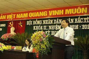 Khai mạc kỳ họp thứ 11 Hội đồng nhân dân quận Bắc Từ Liêm khóa II