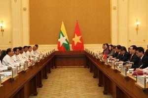 Đề nghị Myanmar đơn giản hóa thủ tục thông quan cho hàng hóa Việt Nam