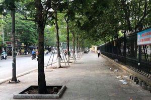 Phường Trung Tự lập lại trật tự đô thị trên phố Tôn Thất Tùng