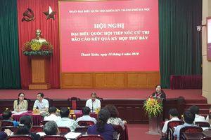 Đại biểu Quốc hội tiếp xúc cử tri quận Thanh Xuân: Đồng thuận cao, không có ý kiến bức xúc