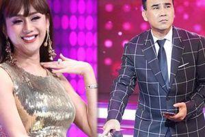 Phản ứng của Quyền Linh khi Lâm Khánh Chi khen đẹp trai không thể rời mắt