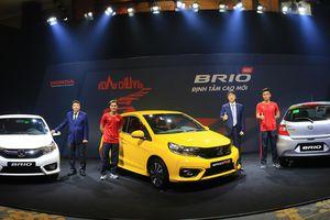 Honda Brio mới ra mắt ở Việt Nam với giá 418 triệu đồng