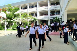Khánh Hòa: Môn Toán có tỷ lệ điểm trên 5 cao nhất trong 3 môn thi tuyển sinh lớp 10